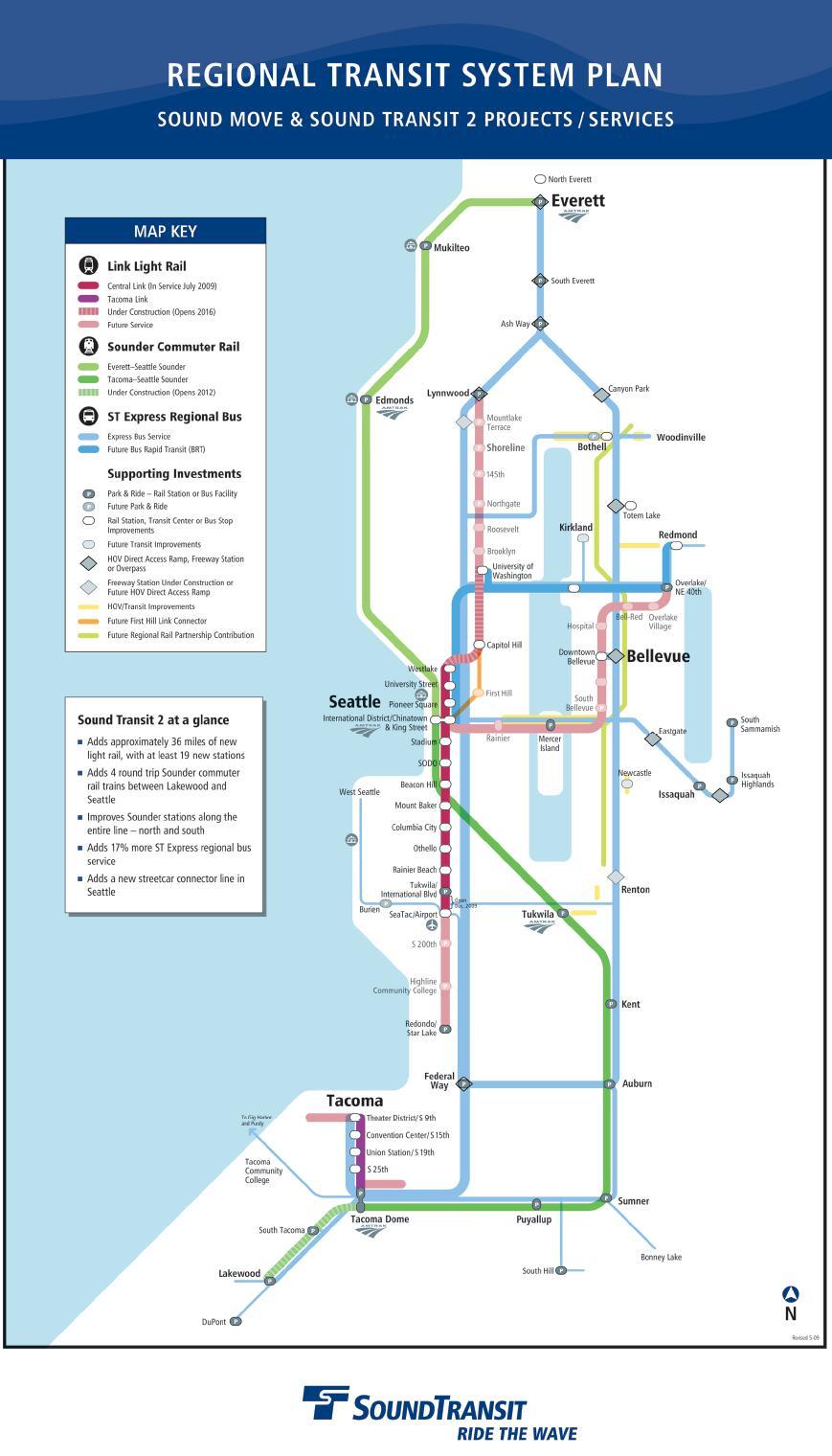 Regional Light Rail Undergoing Expansion  The Northwest