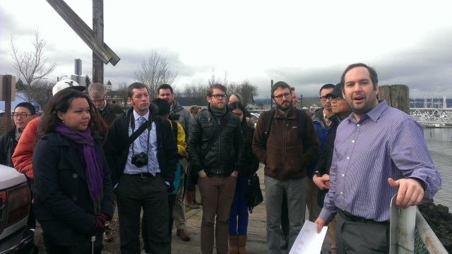 The team visits Port Orchard for the first time and hears from Nick Bond, the City Development Director.