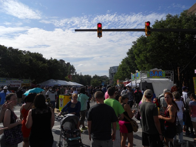The annual Artscape festival in Baltimore takes place on some 10 city blocks for three days.