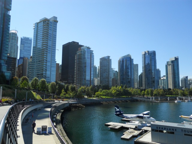 The Vancouver seawall.