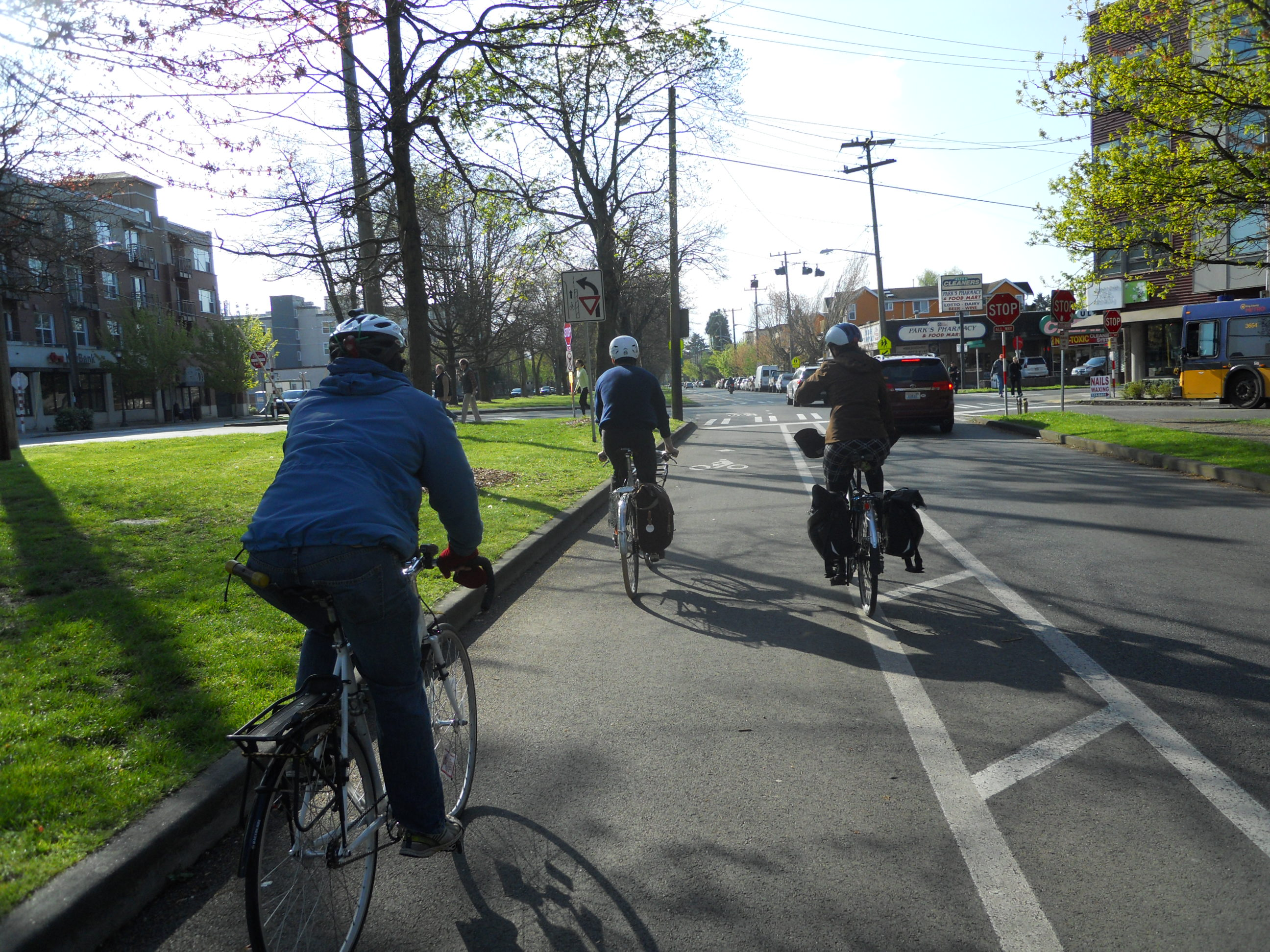 New Protected Bike Lanes Coming To Northeast Seattle The