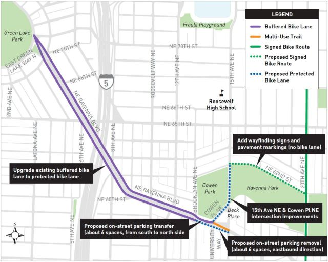 Project map. (SDOT)