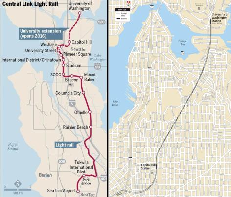Image result for link light rail map