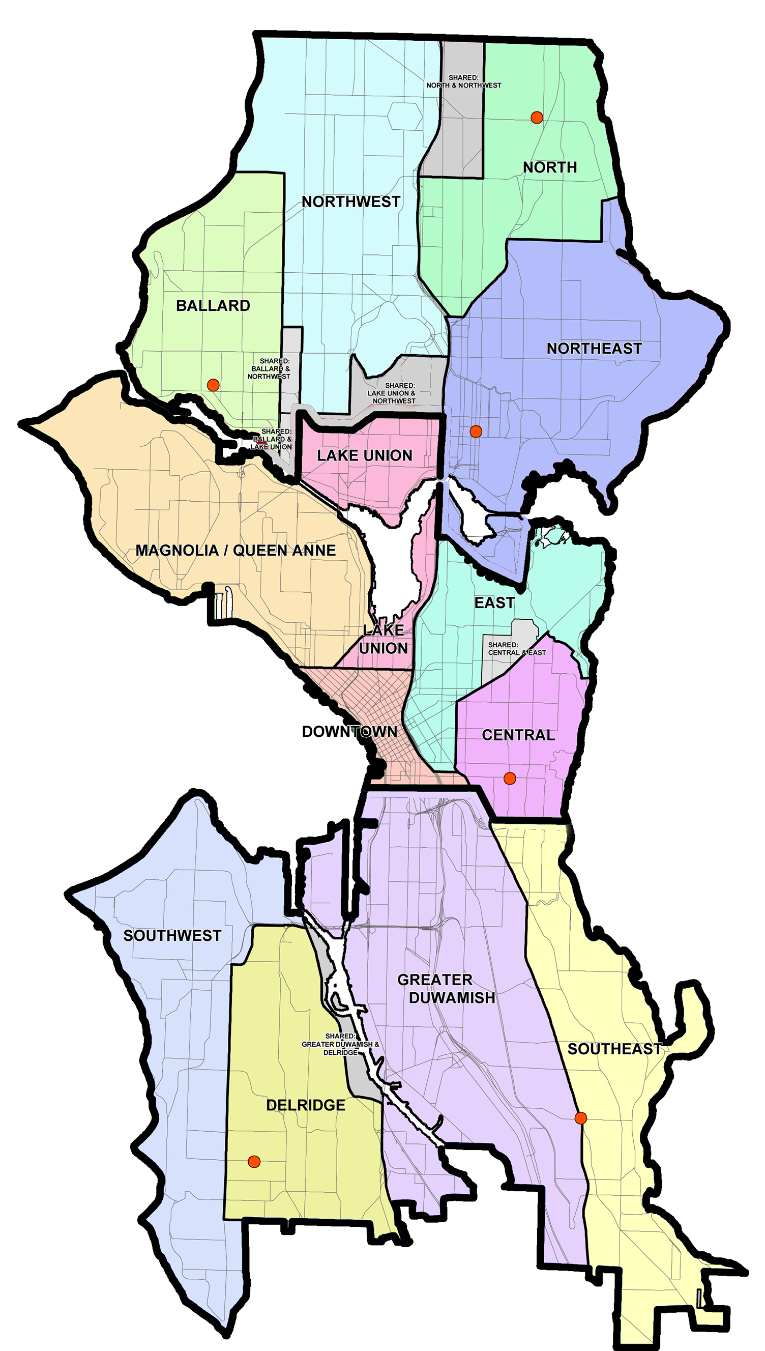Seattle to Cut Official Ties With Neighborhood District Councils